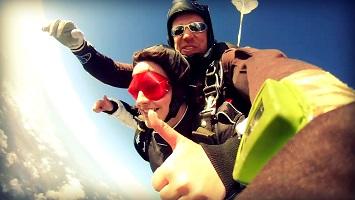 Tandem Skydiving Freefall